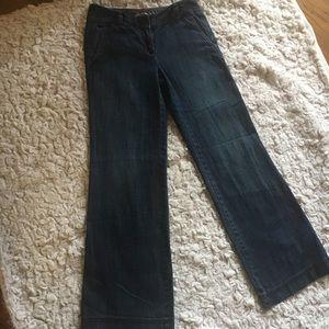Ann Taylor Loft Dressy Jeans. Size 00P.